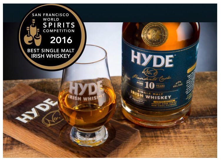 Hyde Irish Whiskey & the 10yo President's Cask
