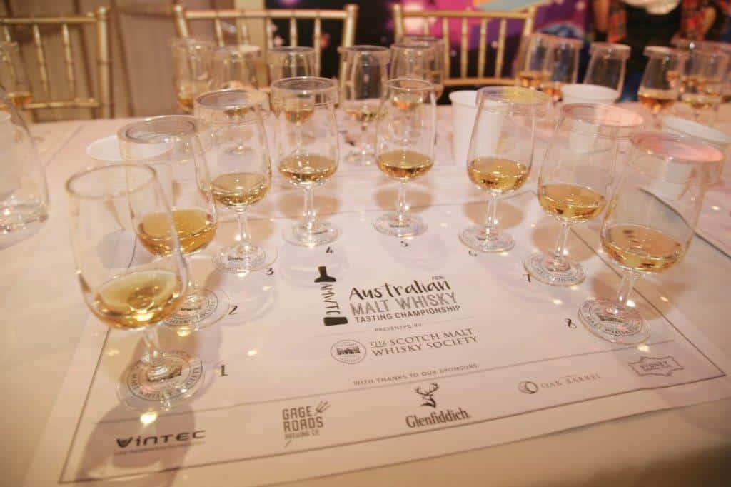 The Australian Malt Whisky Tasting Championship, 2016
