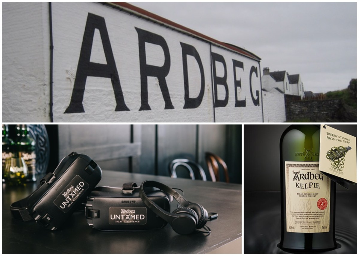 Ardbeg Untamed and Ardbeg Kelpie