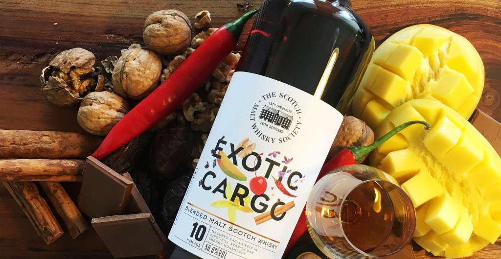 The Scotch Malt Whisky Society presents….Exotic Cargo