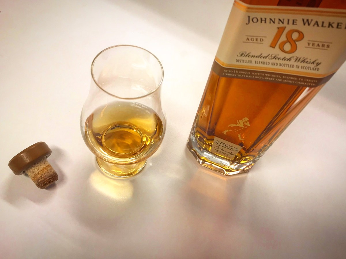 Johnnie Walker 18yo The Old Is New Whisky And Wisdom