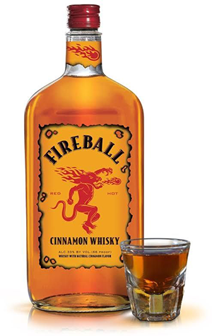 fireball flavored whiskey