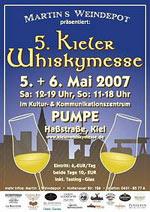 Plakat 5. Kieler Whiskymesse (c) kieler-whiskymesse.de