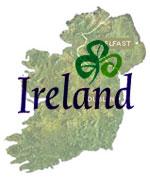 Irlandkarte (c) Tourismus Irland