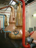 Pot stills bei Glenlivet