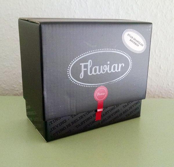 Flaviar Tasting Pack geschlossen