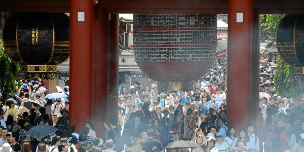 Senso-ji Tempel in Tokyo