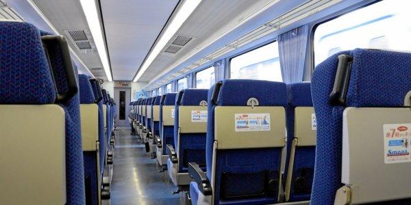 Im (fast leeren) Zug nach Seibuchichibu