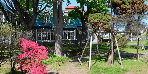 Das Wohnhaus von Rita Taketsuru