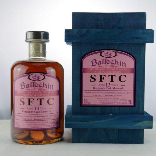 Ballechin SFTC 13 y.o. 2004 2017 Burgundy Cask