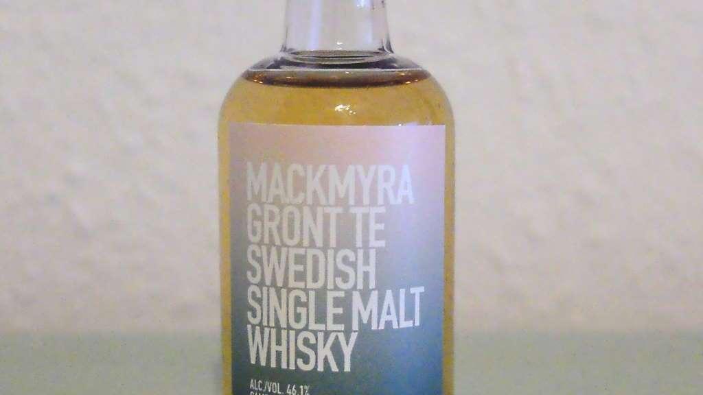 Mackmyra Grönt Te Swedish Single Malt Whisky Sample