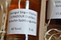 Edradour Singer-Fischer-Ballechin Spätburgunder Trinkstärke