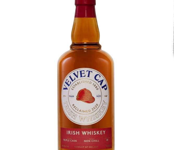 Velvet Cap Irish Whiskey Blackwater Distillery