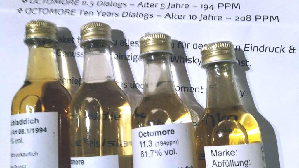 Bruichladdich Black Art 08.1 und Octomores 11