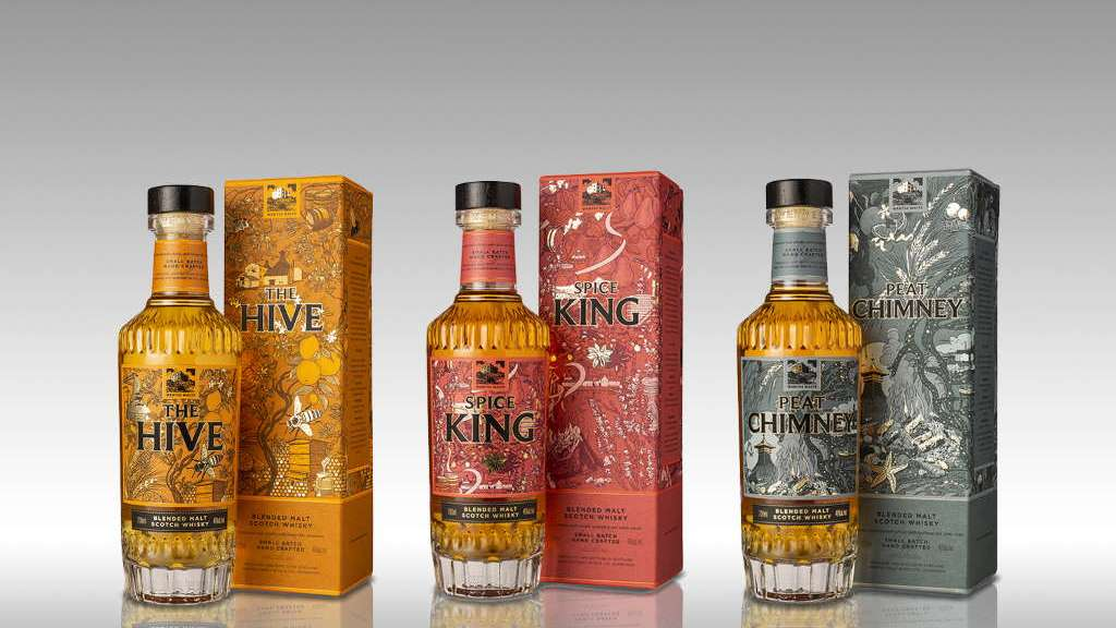 Wemyss Malts The Hive, Spice King und Peat Chimney