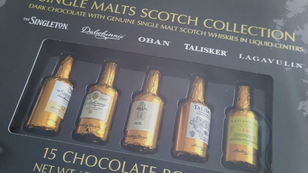 Anthon Berg Single Malts Scotch Collection