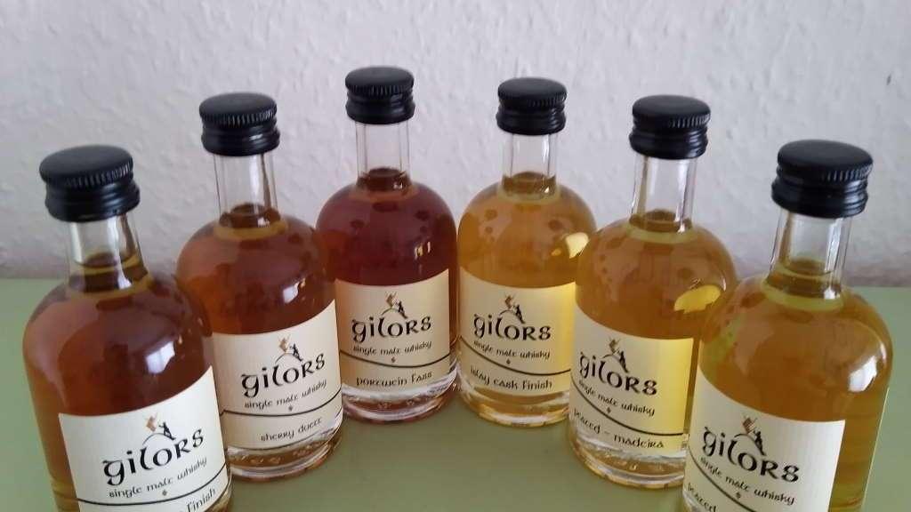 Gilors Whisky Samples
