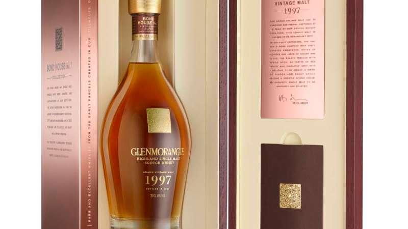 Glenmorangie Grand Vintage 1997 Box open