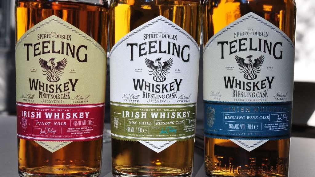 Teeling Irish Whiskey Pinot Noir und Riesling Cask