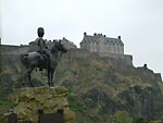 Blick auf Edinburgh Castle (c) Jörg Bechtold