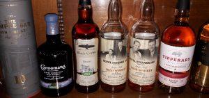 Irish Whisky Tasting Lineup
