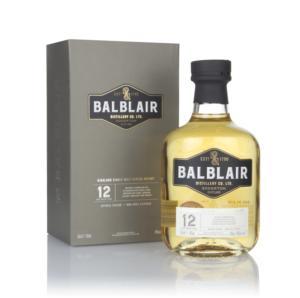 The new Balblair 12 year old