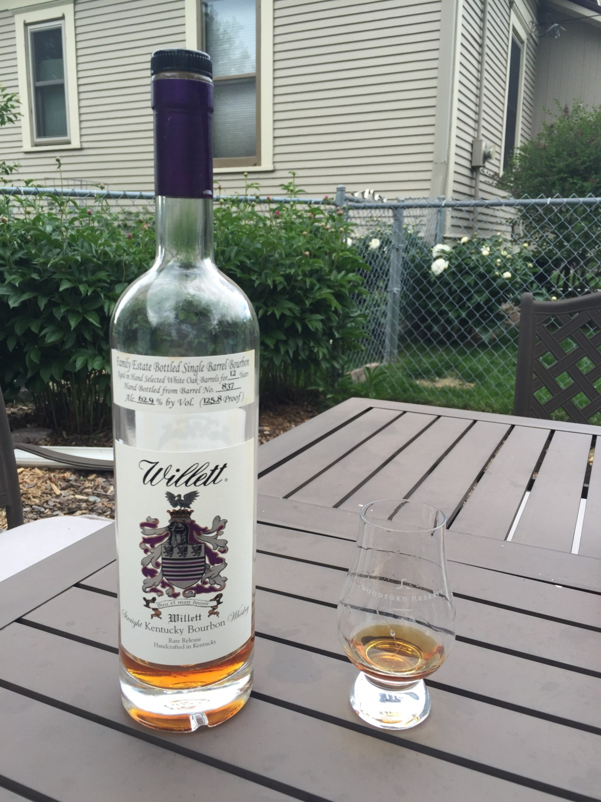 Willett 12 Bourbon (Gift Shop Barrel 837) Review