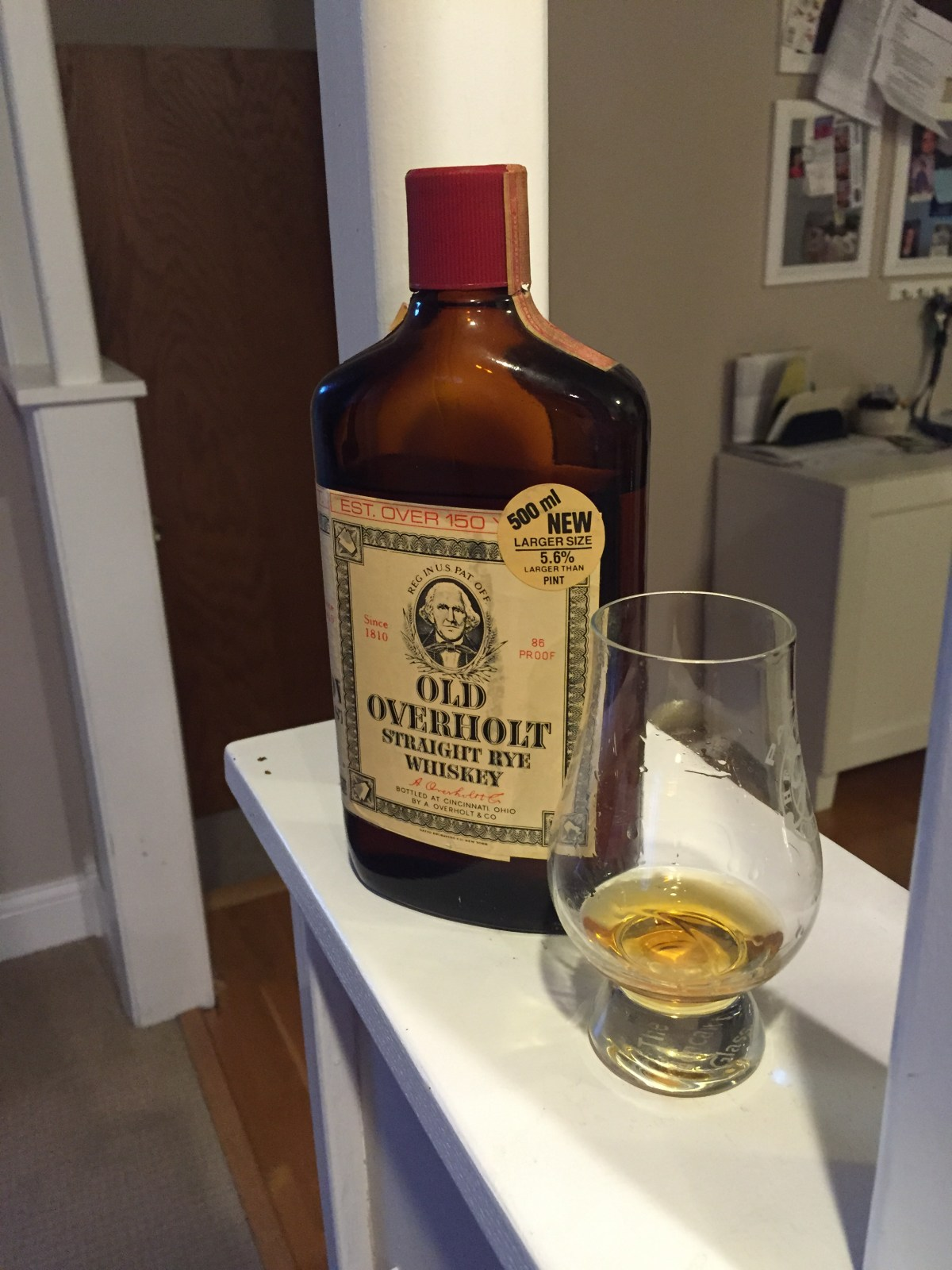 1975 Old Overholt Straight Rye Review