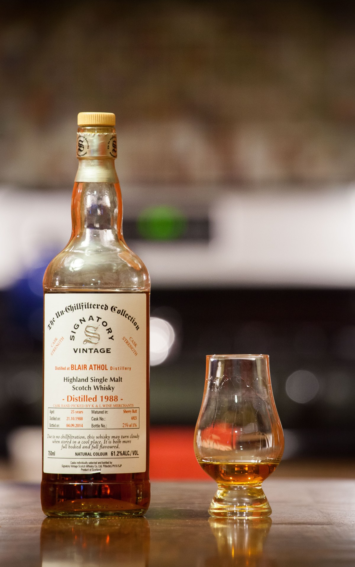 Blair Athol 25 (Signatory Vintage K&L Selection Cask 6923) Review