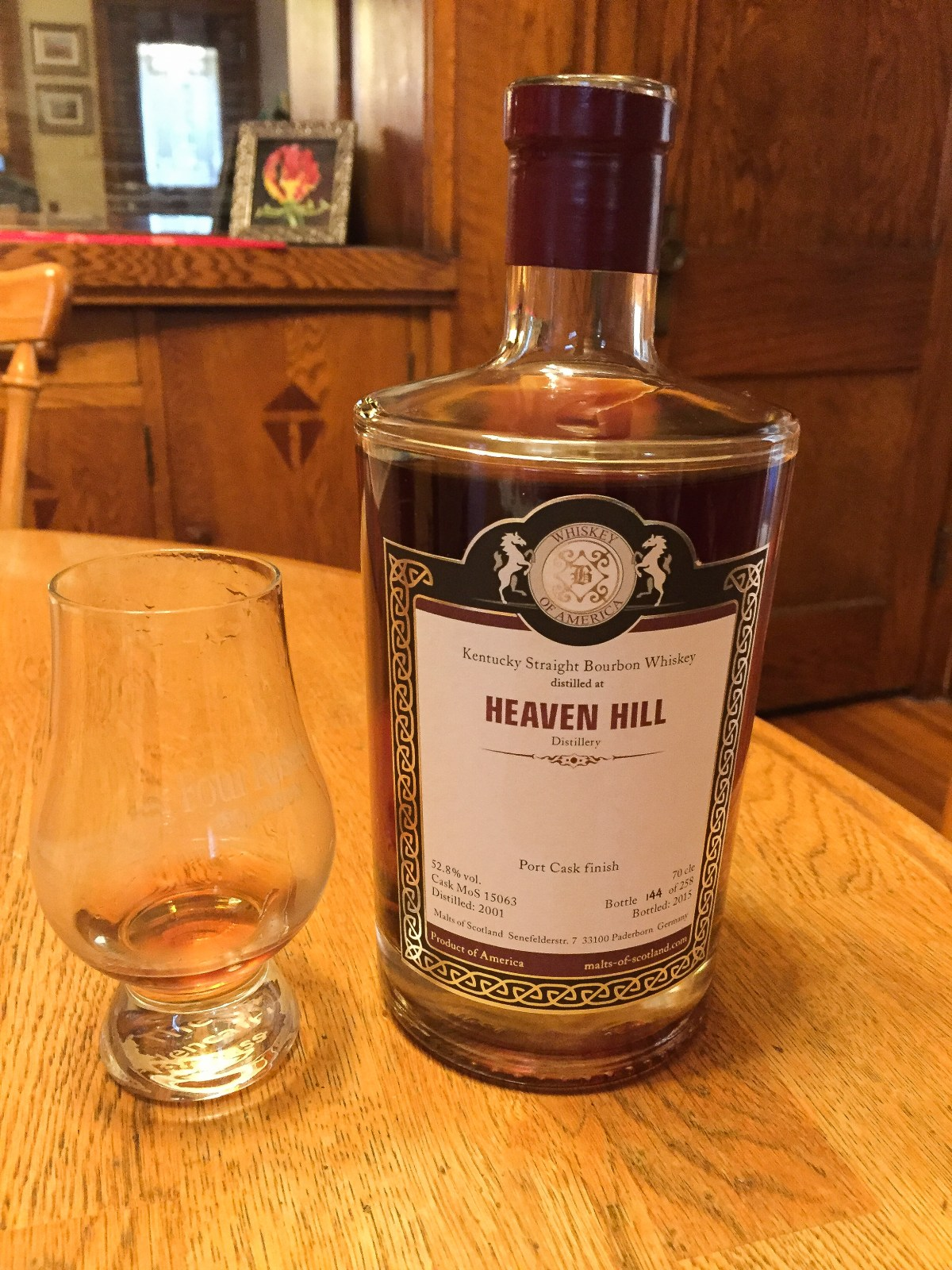 Heaven Hill Port Cask (Malts of Scotland) Review