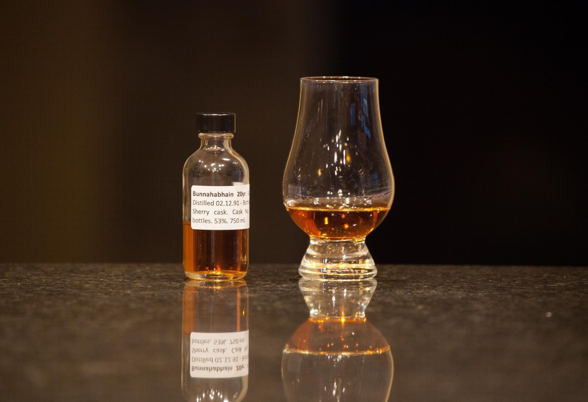 Bunnahabhain 20 (A.D. Rattray 1991/2012 Cask # 5450) Review