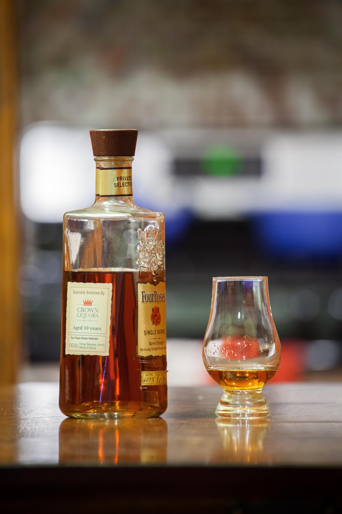 Four Roses Single Barrel OESQ (Crown Liquors Selection) Review