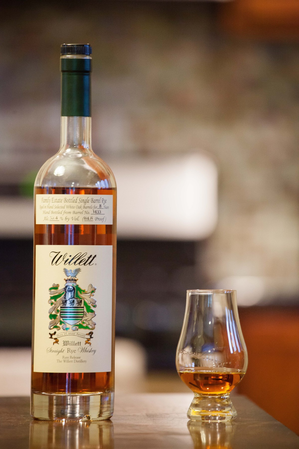 Willett 8 Year Rye (Giftshop Barrel #1433) Review