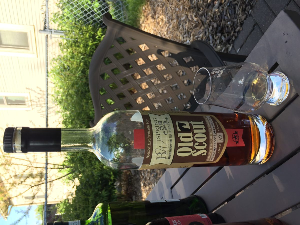 Smooth Ambler Old Scout 10 Year Bourbon (Binny's Spring Selection Barrel #2288) Review