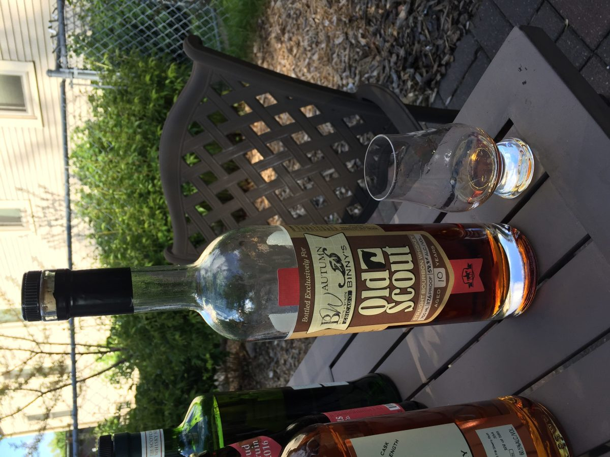 Smooth Ambler Old Scout 10 Year Bourbon (Binny's Autumn Selection Barrel #2510) Review