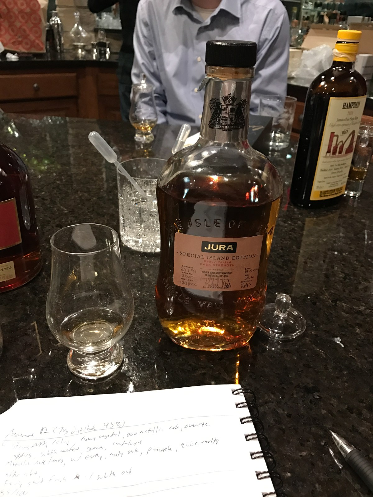 Jura Special Island Edition 1999/2006 Cask #5000 Review