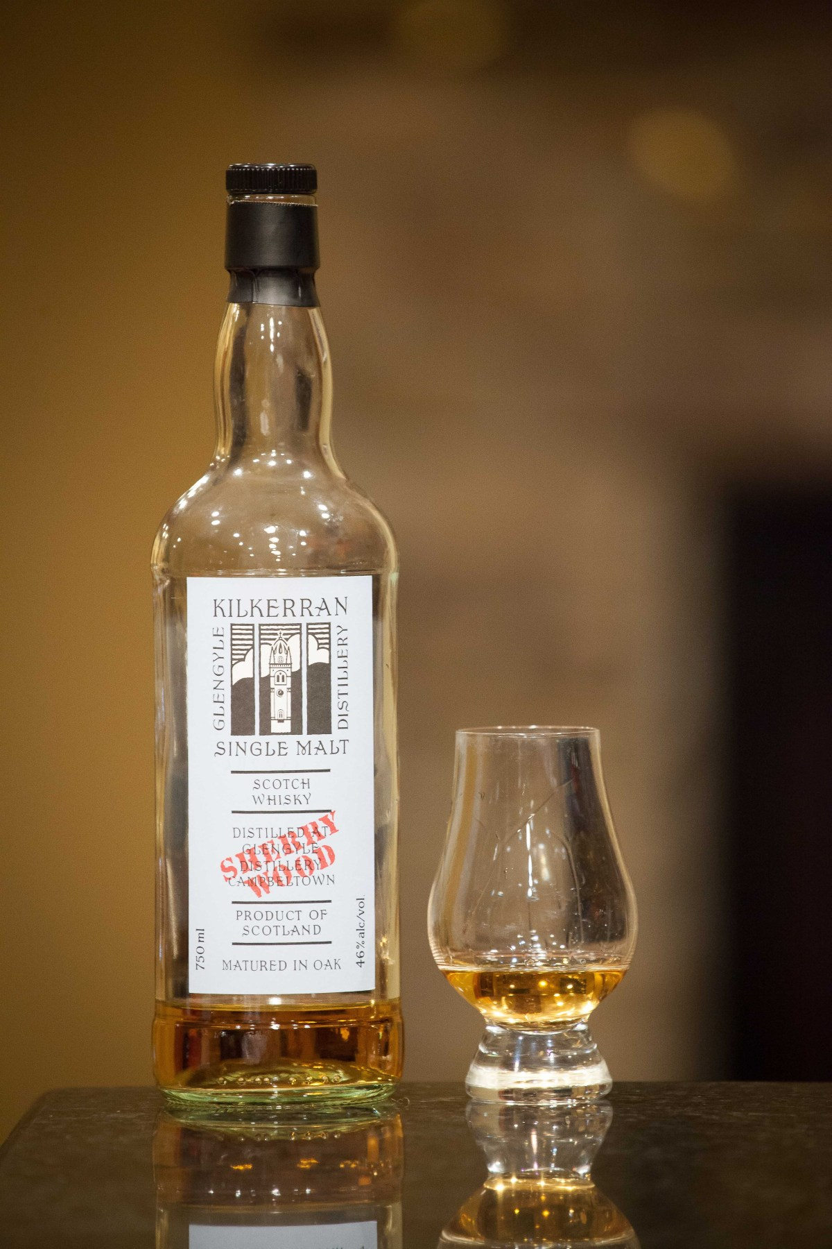 Kilkerran Work In Progress #5 Sherry Wood Review