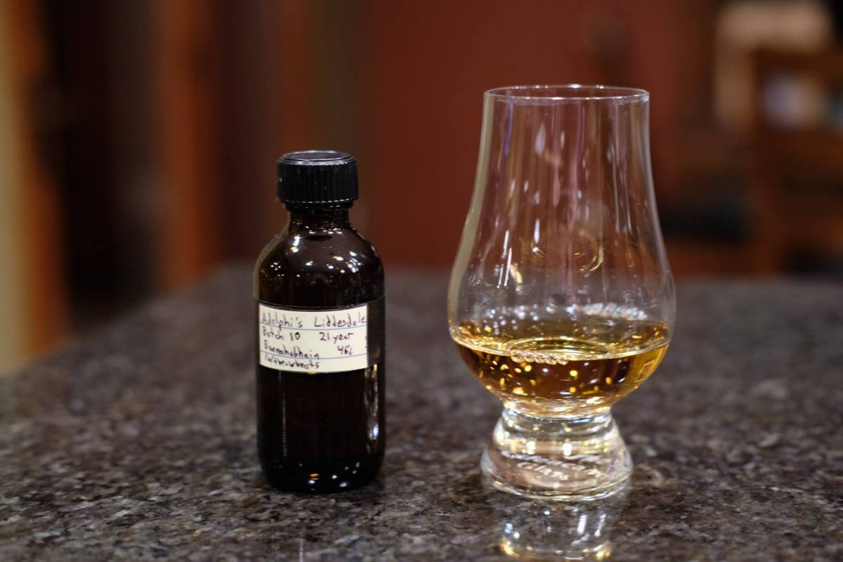 Adelphi's Liddesdale Batch 10 (Bunnahabhain 21) Review