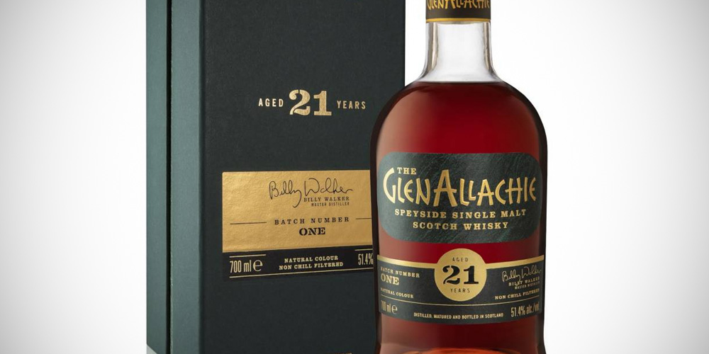 GlenAllachie 21 Years Old - Cask Strength