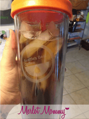 Simple Iced Coffee from Seattle's Best Coffee {Review and Giveaway}