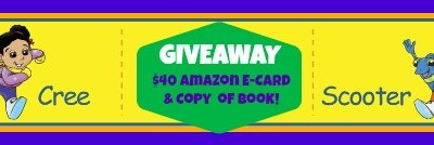 Cree and Scooter $40 Amazon GC/Book #Giveaway
