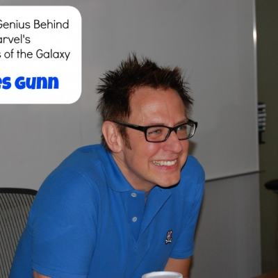 James Gunn Exclusive Interview #GuardiansoftheGalaxyEvent