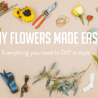 Beautiful DIY Flowers from Bloominous