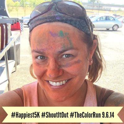 The Color Run #Happiest5K Recap #ShoutItOut