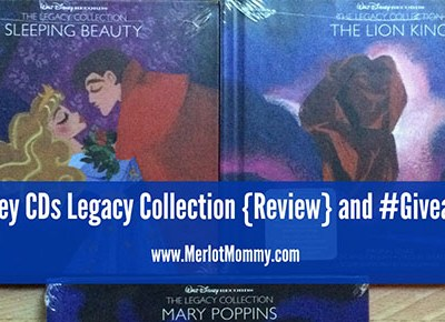 Disney Legacy Collection CDs {Review} and #Giveaway #disneymusic #enmnetwork