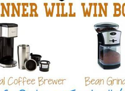 Capresso Personal Coffee Brewer and Bean Grinder {Review} and #Giveaway ends 11/26