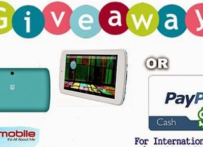 $85 PayPal Cash OR ME-Rainbow 7 Quad-core Android Tablet #Giveaway ends 3/24