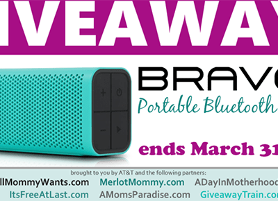 Enter to win a BRAVEN Portable Bluetooth Speaker #Giveaway ends 3/31