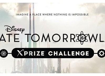 "Enter Disney's ""Create TOMORROWLAND"" XPRIZE Challenge! #Tomorrowland"