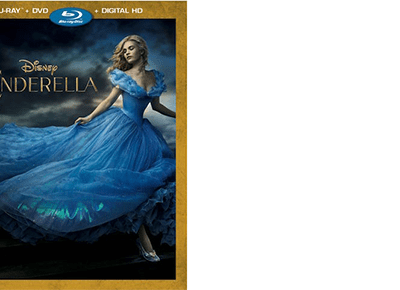 Disney's CINDERELLA on Blu-Ray + Crafts and Games Printables